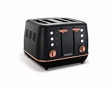 Morphy Richards Evoke Special Edition 4 Slice Toaster – Black&Rose Gold – 240114