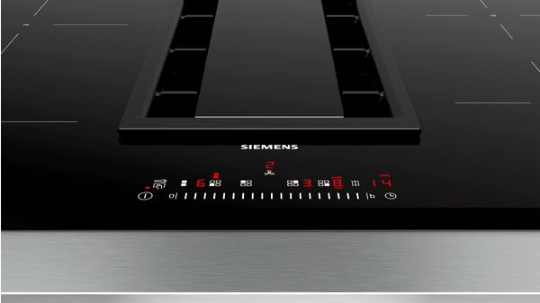 Siemens iQ500, Induction Cooktop with Integrated Ventilation System, 80 cm ED851FQ15E