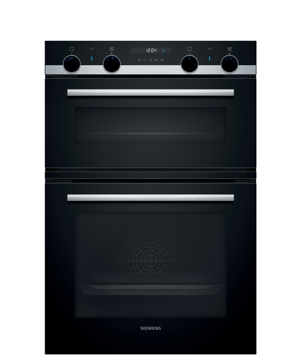 Siemens iQ500, Built-in double oven, 60 cm, Stainless steel MB535A0S0B