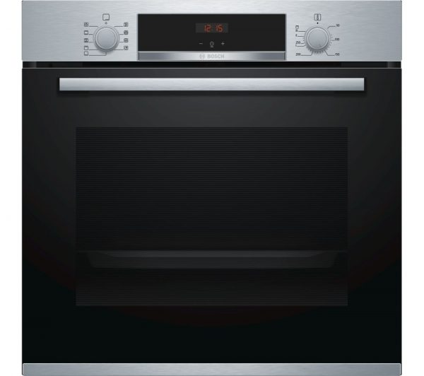Bosch Serie 4, Single Wall Oven, 60 cm, Stainless steel – HBS534BSOB