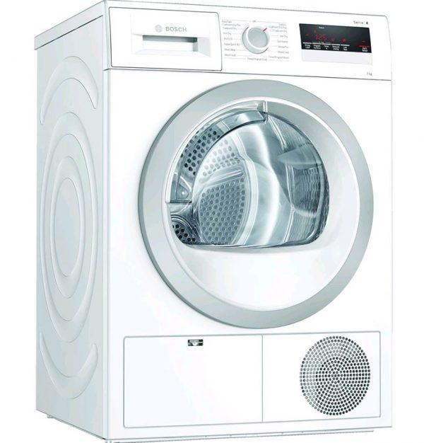 Bosch Serie 4, Condenser tumble dryer, 8 kg – WTN85201GB