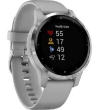 Garmin Vívoactive 4 Smart Watch In Black With Slate Hardware – 010-02172-12 (Small)