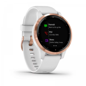Garmin Vivoactive 4s White & Rose Gold | 010-02172-22
