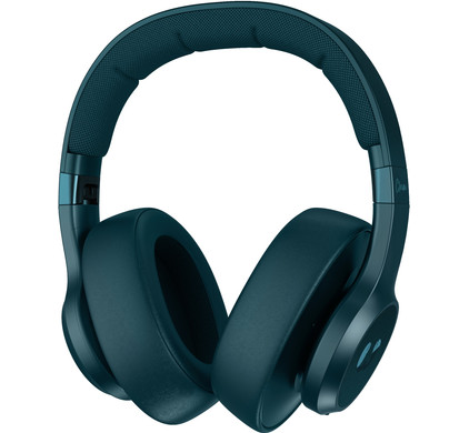 Fresh 'n Rebel Clam ANC Petrol Blue Headphones- 3HP400PB – 655688