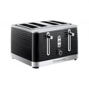 RUSSELL HOBBS Inspire 4-Slice Toaster – Black – 24381