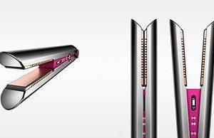 Dyson Corrale Hair Straightener | 322991-01 | Black Nickel/Fuchsia