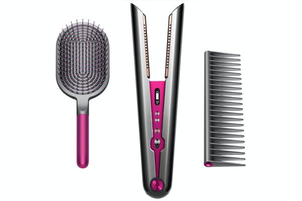 Dyson Corrale Gift Edition Hair Straightener & Styling Set | 371675-01 | Black Nickel/Fuchsia
