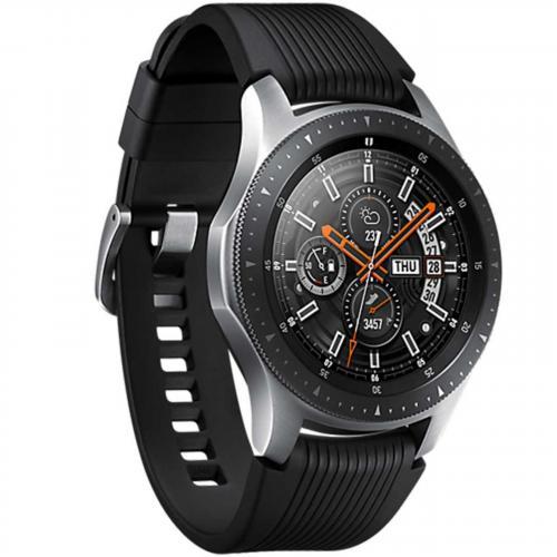 Samsung Galaxy 46 mm Smart Watch – Black Silver – SM-R800NZSABTU