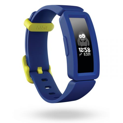 Fitbit Ace 2 Activity Tracker for Kids 6+ Night Sky and Neon Yellow Clasp | 79-FB414BKBU