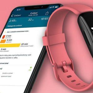 Fitbit Inspire 2 Health & Fitness Smart Watch | Desert Rose | 79-FB418BKCR