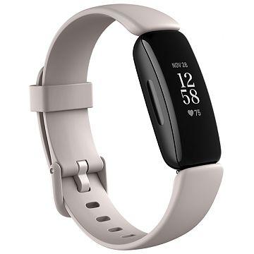 Fitbit Inspire 2 Health & Fitness Smart Watch | Lunar White | 79-FB418BKWT
