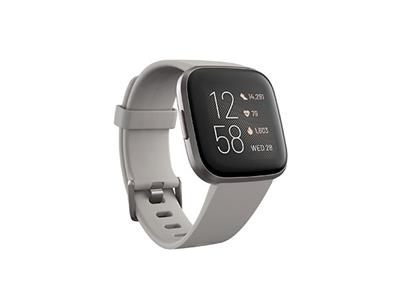 Fitbit Versa 2 Health & Fitness Stone/Mist Grey Smart Watch | 79-FB507GYSR