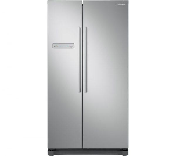 Samsung NoFrost Freestanding American Fridge Freezer - Metal Graphite   RS54N3103SA