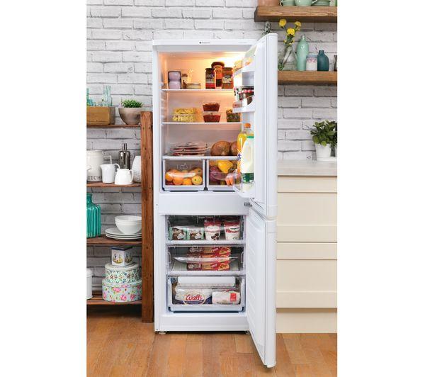 Hotpoint 60/40 fridge freezer white HBD5515W