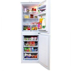 Indesit 50/50 fridge freezer white IBD5517W