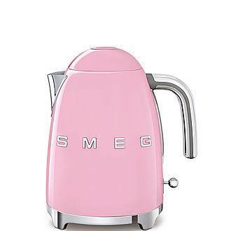 Smeg 1.7L Retro Style Kettle  Pink – KLF03PKUK