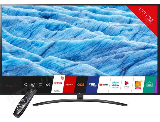 LG 70UM7450 177.8 cm (70″) 4K Ultra HD Smart TV Wi-Fi Black