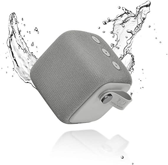 Fresh 'n Rebel Rockbox Bold S Ice Grey Waterproof Bluetooth Speaker – 1RB6000IG – 656579