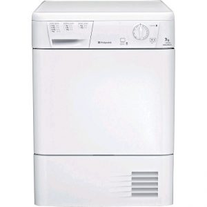 Hotpoint Aquarius 7kg Condenser Tumble Dryer FETC70BPUK