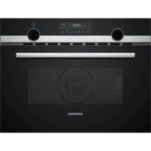 Siemens 45cm Combi 3-In-1 Microwave, HotAir & Steam – CP565AGS0B