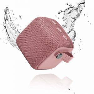 Fresh 'n Rebel Rockbox Bold S Dusty Pink Waterproof Bluetooth Speaker – 1RB6000DP – 656487