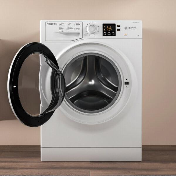 Hotpoint NSWA843CWWUK 8gk 1400 Spin Washing Machine