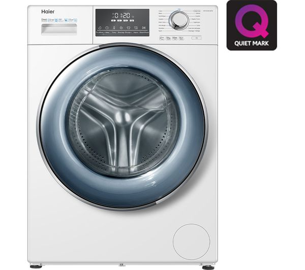Haier 12KG 1400 Spin Freestanding Washing Machine White – HW120-B14876