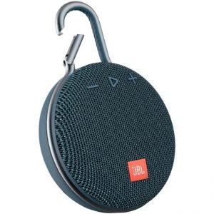 JBL Clip 3 Portable Bluetooth Speaker – Blue