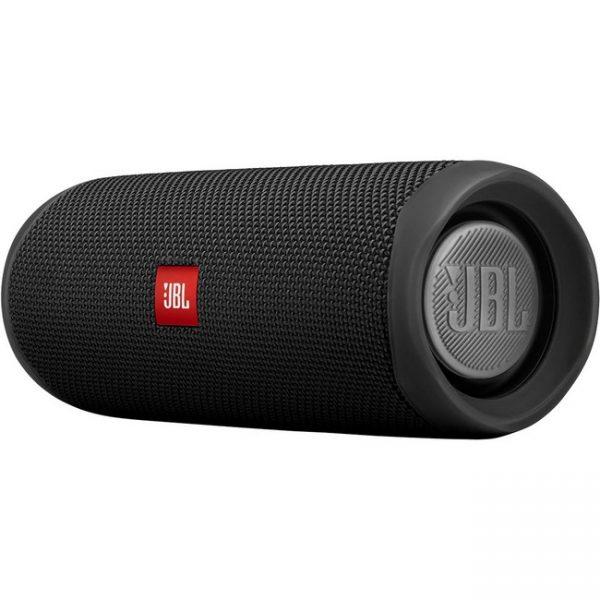 JBL Flip 5 Portable Waterproof Speaker – Black – JBLFLIP5BLK