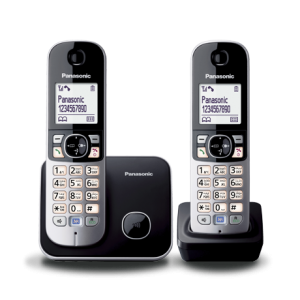 Panasonic Twin Cordless Portable Phone – KX-TG6812