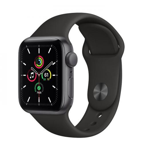 Apple Watch SE 40MM Aluminium Case with Sports Band – Space Grey | MYDP2B/A