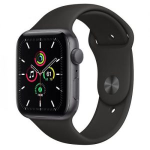 Apple Watch SE 44MM Aluminium Case with Sports Band – Space Grey | MYDT2B/A
