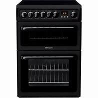 Hotpoint 60cm Ceramic Cooker – Black – HAE60K