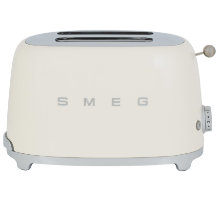 Smeg 50's Retro Style Aesthetic 2 Slice Toaster Cream – TSF01CRUK