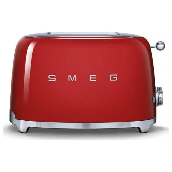 Smeg 50's Retro Style Aesthetic 2 Slice Toaster Red – TSF01RDUK