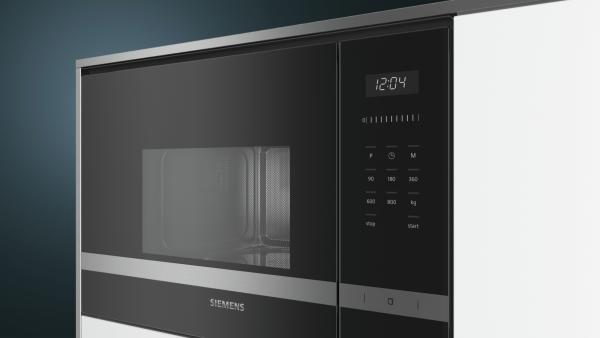 Siemens BF525LMS0B Built-in Microwave, Stainless Steel