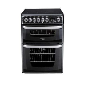 Hotpoint/Cannon CH60EKK Freestanding Cooker in Black