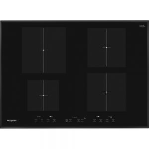 Hotpoint 60cm 4 Zone Built-In Induction Hob – Black | CIA640B