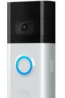 Ring Doorbell 3 with Motion Sensors – Matt Nickel 64-8VRSLZ-0EU