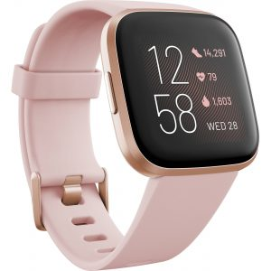Fitbit Versa 2 Health & Fitness Smart Watch - 79-FB507RGPK (Petal & Copper Rose)