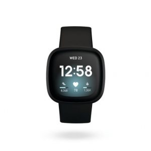 Fitbit Versa 3 Health & Fitness Black Smart Watch | 79-FB511BKBK