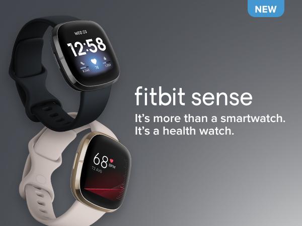Fitbit Sense Health & Fitness Smart Watch | Carbon & Graphite | 79-FB512BKBK