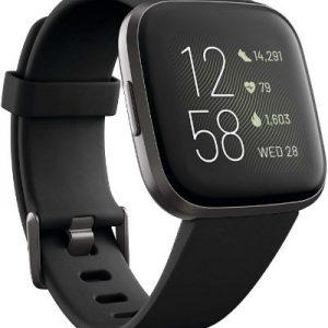 Fitbit Versa 2 Health & Fitness Smartwatch Black FB507BKBK