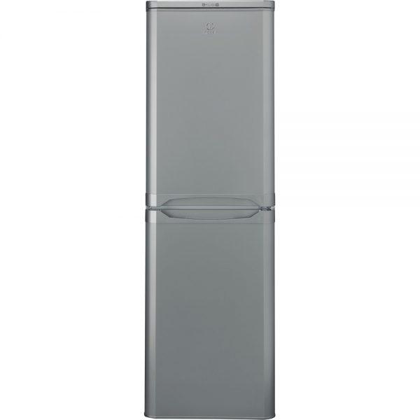Indesit 50/50 fridge freezer silver IBD5517S