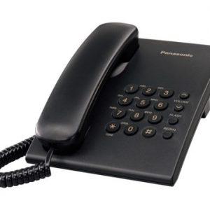 Panasonic Corded Landline Telephone Black KX-TS500