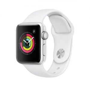 Apple Watch Series 3 38mm Aluminium Case with Sports Band - Silver | MTEY2B/A