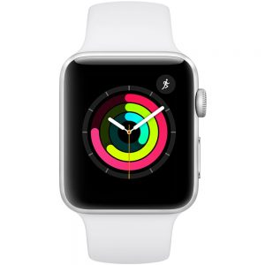 Apple Watch Series 3 42mm Aluminium Case with Sports Band - Silver | MTF22B/A