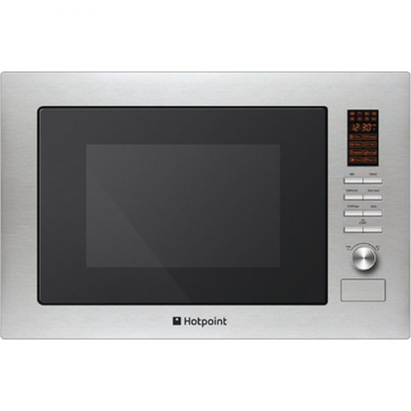 HOTPOINT BUILT IN MICROWAVE OVEN: STAINLESS STEEL COLOR MWH2221.X