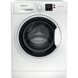 Hotpoint 10kg 1400 spin washing machine NSWA1043CWW
