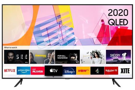Samsung Q60T 50″ 4K Quantum HDR QLED Smart TV – Black | QE50Q60TAUXXU